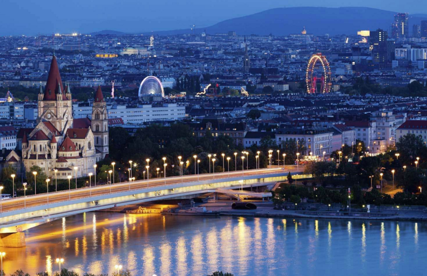 Австраия, Вена. Мостовая.
